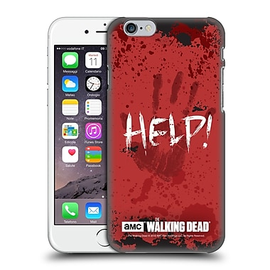 Official Amc The Walking Dead Quotes Help Hard Back Case For Apple Iphone 6 / 6S