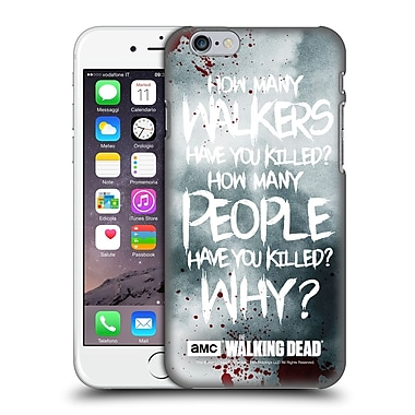 Official Amc The Walking Dead Quotes Rick Questions Hard Back Case For Apple Iphone 6 / 6S