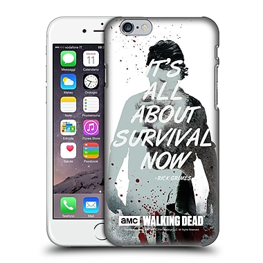 Official Amc The Walking Dead Quotes Rick Survival Hard Back Case For Apple Iphone 6 / 6S