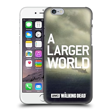 Official Amc The Walking Dead Key Art Smoke Hard Back Case For Apple Iphone 6 / 6S