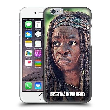 Official Amc The Walking Dead Michonne Face Hard Back Case For Apple Iphone 6 / 6S