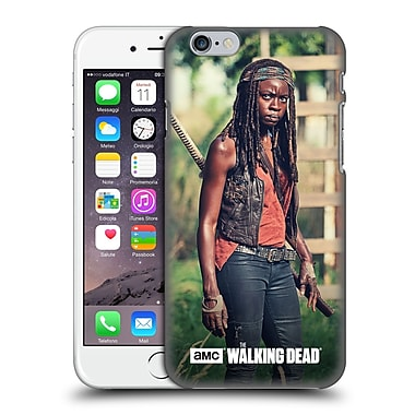 Official Amc The Walking Dead Michonne Stare Hard Back Case For Apple Iphone 6 / 6S
