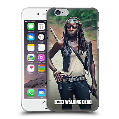 Official Amc The Walking Dead Michonne Stance Hard Back Case For Apple Iphone 6 / 6S