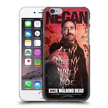 Official Amc The Walking Dead Negan Eeny Miney Coloured Hard Back Case For Apple Iphone 6 / 6S