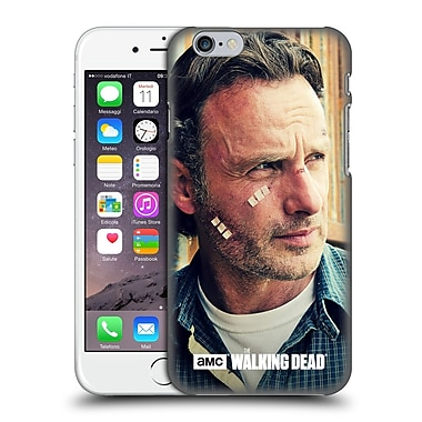 Official Amc The Walking Dead Rick Grimes Cuts And Bandages Hard Back Case For Apple Iphone 6 / 6S