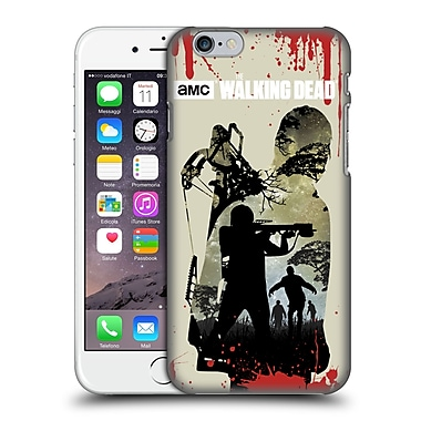 Official Amc The Walking Dead Silhouettes Daryl Full Hard Back Case For Apple Iphone 6 / 6S