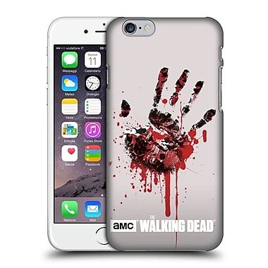 Official Amc The Walking Dead Silhouettes Hand Hard Back Case For Apple Iphone 6 / 6S