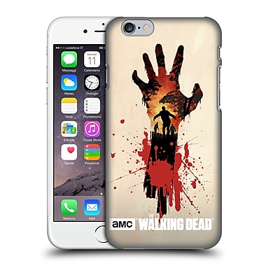 Official Amc The Walking Dead Silhouettes Walker Hand Hard Back Case For Apple Iphone 6 / 6S