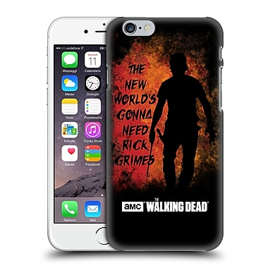 Official Amc The Walking Dead Typography Gonna Need Rick Hard Back Case For Apple Iphone 6 / 6S