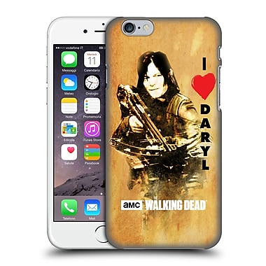 Official Amc The Walking Dead Typography Love Daryl Crossbow Hard Back Case For Apple Iphone 6 / 6S