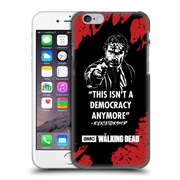 Official Amc The Walking Dead Typography Ricktatorship Hard Back Case For Apple Iphone 6 / 6S