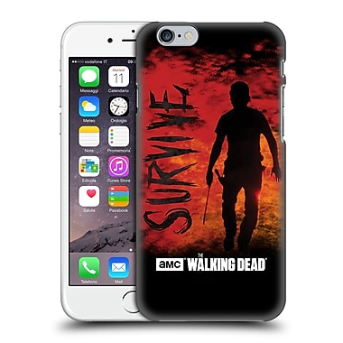 Official Amc The Walking Dead Typography Survive Rick Machete Hard Back Case For Apple Iphone 6 / 6S