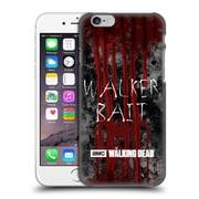 Official Amc The Walking Dead Typography Walker Bait Hard Back Case For Apple Iphone 6 / 6S