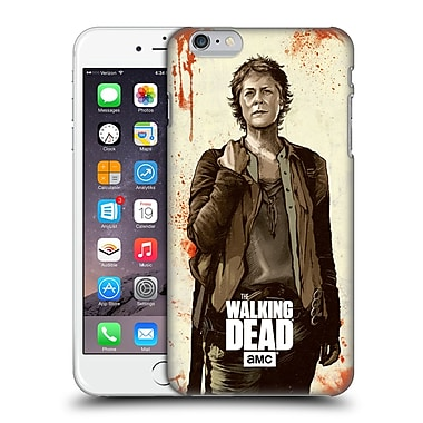 Official Amc The Walking Dead Distressed Illustrations Carol Hard Back Case For Apple Iphone 6 Plus / 6S Plus