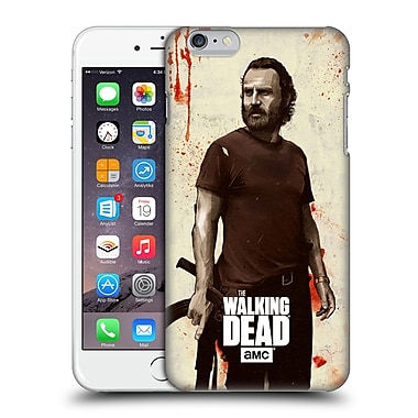 Official Amc The Walking Dead Distressed Illustrations Rick Hard Back Case For Apple Iphone 6 Plus / 6S Plus