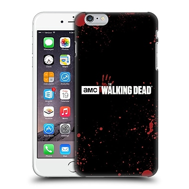 Official Amc The Walking Dead Logo Blood Black Hard Back Case For Apple Iphone 6 Plus / 6S Plus