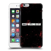 Official Amc The Walking Dead Logo Blood Black Hard Back Case For Apple Iphone 6 Plus / 6S Plus