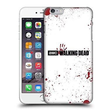 Official Amc The Walking Dead Logo Blood White Hard Back Case For Apple Iphone 6 Plus / 6S Plus