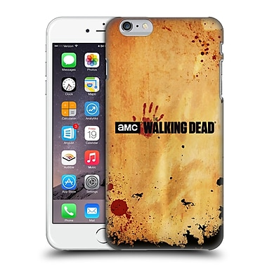 Official Amc The Walking Dead Logo Horizontal Hard Back Case For Apple Iphone 6 Plus / 6S Plus