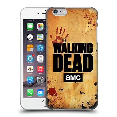 Official Amc The Walking Dead Logo Stacked Hard Back Case For Apple Iphone 6 Plus / 6S Plus