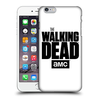 Official Amc The Walking Dead Logo White Hard Back Case For Apple Iphone 6 Plus / 6S Plus