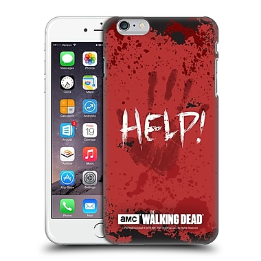 Official Amc The Walking Dead Quotes Help Hard Back Case For Apple Iphone 6 Plus / 6S Plus
