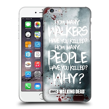 Official Amc The Walking Dead Quotes Rick Questions Hard Back Case For Apple Iphone 6 Plus / 6S Plus