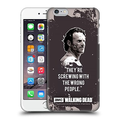 Official Amc The Walking Dead Quotes Rick Trap Hard Back Case For Apple Iphone 6 Plus / 6S Plus