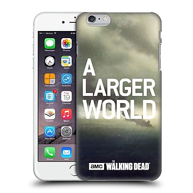 Official Amc The Walking Dead Key Art Smoke Hard Back Case For Apple Iphone 6 Plus / 6S Plus