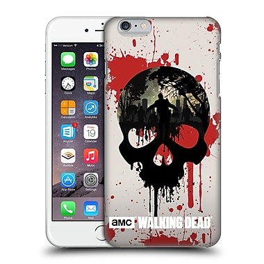 Official Amc The Walking Dead Silhouettes Skull Hard Back Case For Apple Iphone 6 Plus / 6S Plus