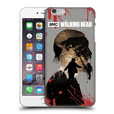 Official Amc The Walking Dead Silhouettes Walker Hard Back Case For Apple Iphone 6 Plus / 6S Plus