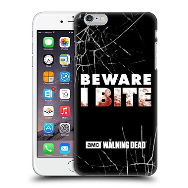 Official Amc The Walking Dead Typography I Bite Hard Back Case For Apple Iphone 6 Plus / 6S Plus