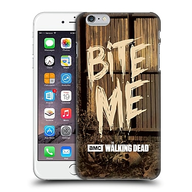 Official Amc The Walking Dead Typography Bite Me Hard Back Case For Apple Iphone 6 Plus / 6S Plus