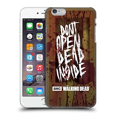 Official Amc The Walking Dead Typography Do Not Open Hard Back Case For Apple Iphone 6 Plus / 6S Plus