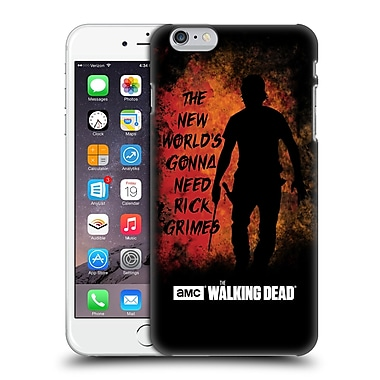 Official Amc The Walking Dead Typography Gonna Need Rick Hard Back Case For Apple Iphone 6 Plus / 6S Plus