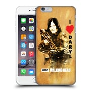 Official Amc The Walking Dead Typography Love Daryl Crossbow Hard Back Case For Apple Iphone 6 Plus / 6S Plus