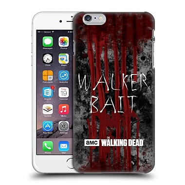 Official Amc The Walking Dead Typography Walker Bait Hard Back Case For Apple Iphone 6 Plus / 6S Plus
