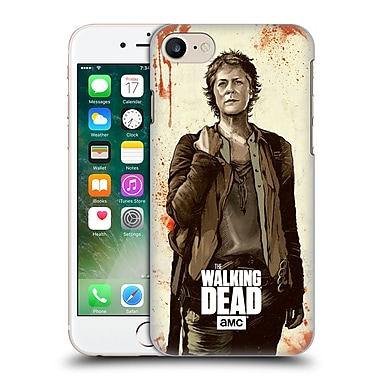 Official Amc The Walking Dead Distressed Illustrations Carol Hard Back Case For Apple Iphone 7