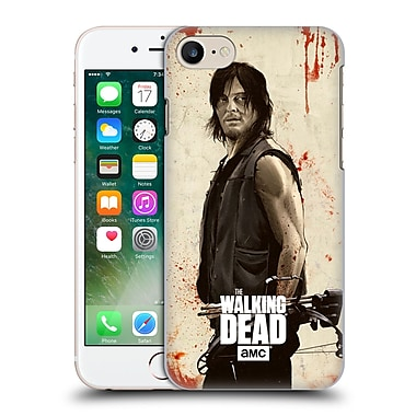 Official Amc The Walking Dead Distressed Illustrations Daryl Hard Back Case For Apple Iphone 7
