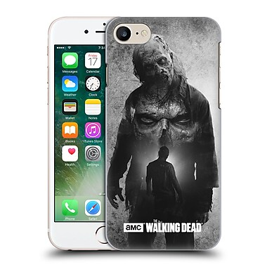 Official Amc The Walking Dead Exposure Walker Hard Back Case For Apple Iphone 7