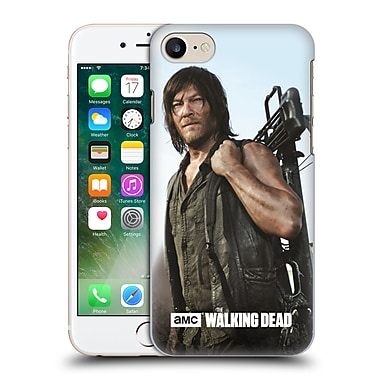 Official Amc The Walking Dead Filtered Characters Daryl Crossbow Hard Back Case For Apple Iphone 7