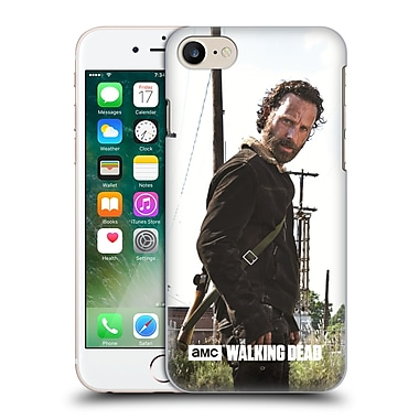 Official Amc The Walking Dead Filtered Characters Rick Gun Hard Back Case For Apple Iphone 7