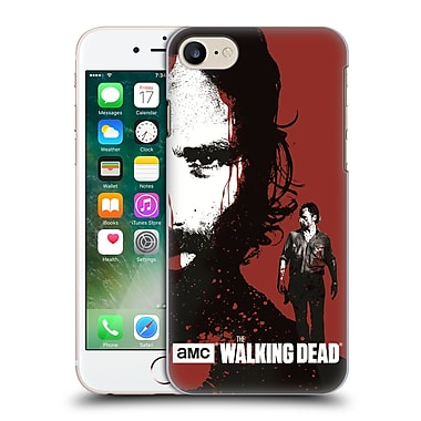 Official Amc The Walking Dead Gore Bloody Face Rick Hard Back Case For Apple Iphone 7