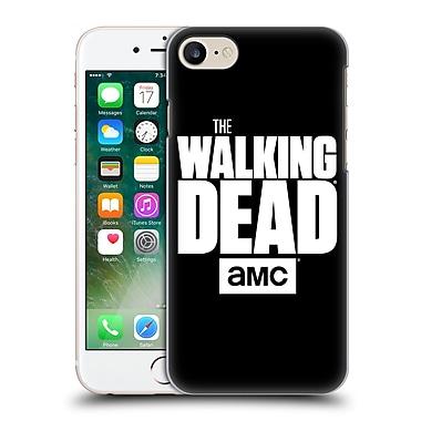 Official Amc The Walking Dead Logo Black Hard Back Case For Apple Iphone 7