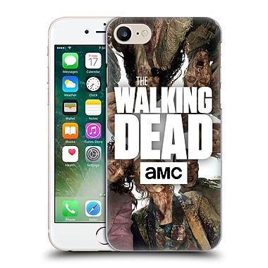 Official Amc The Walking Dead Logo Group Hard Back Case For Apple Iphone 7