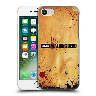 Official Amc The Walking Dead Logo Horizontal Hard Back Case For Apple Iphone 7