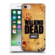 Official Amc The Walking Dead Logo Stacked Hard Back Case For Apple Iphone 7