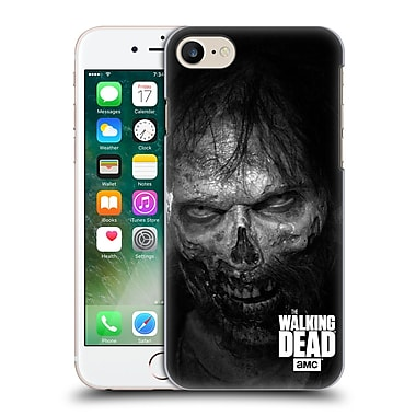 Official Amc The Walking Dead Logo Stare Hard Back Case For Apple Iphone 7