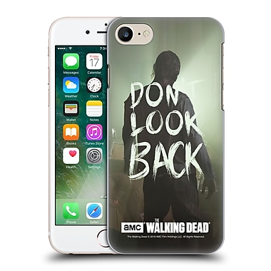 Official Amc The Walking Dead Quotes Dont Look Back Hard Back Case For Apple Iphone 7