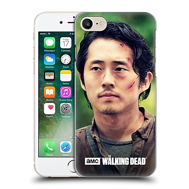 Official Amc The Walking Dead Glenn Rhee Face Hard Back Case For Apple Iphone 7